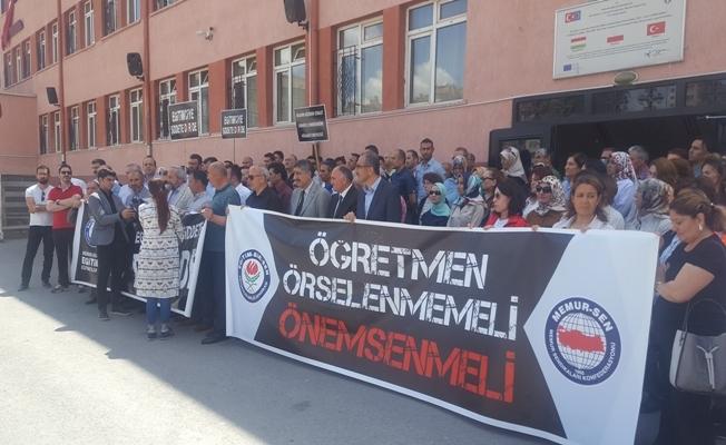 """""""Öğretmenler, şamar oğlanına döndürüldü"""""""