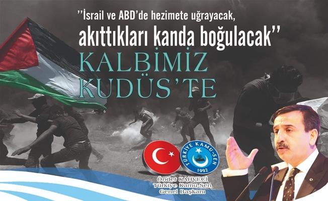 Kamu-Sen yarın Filistin Büyükelçisi Faed Mustafa görüşecek