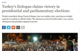 Dünya Basınında 24 Haziran Türkiye Seçimleri