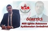 Milli Eğitim Bakanının Açıklamaları Sevindirici