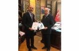 Genel Başkan Talip Geylan, MHP Lideri Devlet Bahçeli'ye Teşekkür Ziyaretinde Bulundu
