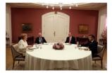 Suriye Zirvesi Sonrası: Liderler Yemekte