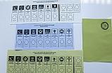 İşte 31 Mart'ta Kullanılacak Oy Pusulası
