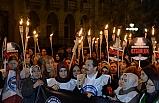 Memur-Sen Dünya Kadınlar Gününde Suriyeli Mahpus Kadınlar İçin Yürüdü