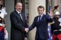 Aliyev İle Macron Fransa'da Görüştü