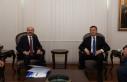 Genel Başkan Talip Geylan, Bakan Ziya Selçuk'u...