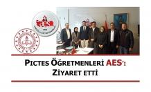 PICTES Öğretmenleri AES'i Ziyaret Etti
