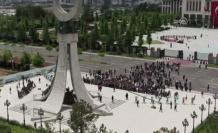 Tüm Gözler Ankara'da! İlk Tören Beştepe'de Yapıldı
