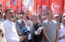 Memur-Sen, Destansı Direnişin Yıldönümünde İstanbul Şehitler Abidesi Önünde Buluştu