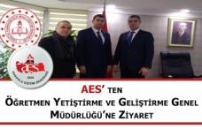 AES' ten Öğretmen Yetiştirme ve Geliştirme Genel Müdürlüğü'ne Ziyaret