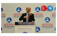 Genel Başkan Geylan: MEB'den Beklentimiz Adaleti Tesis Etmesidir