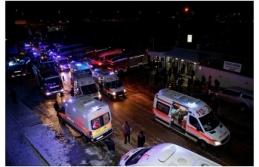 Ankara'da Hızlı Tren Kazası Meydana Geldi...