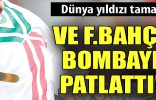 FENERBAHÇE  TRANSFER BOMBASINI PATLATTI !