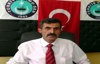 TÜRK EĞİİM-SEN ŞIRNAK İL TEMSİLCİSİ TURGUT...