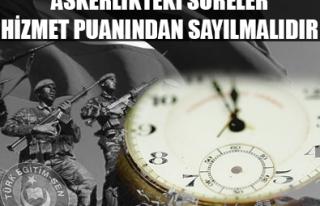 ÖĞRETMENİN ASKERLİK SÜRESİ HİZMET PUANINDAN...