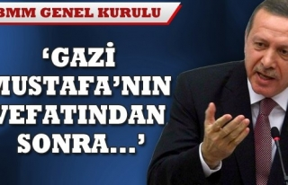 BAŞBAKAN ERDOĞAN ELEŞTİRİLERE SERT CEVAP VERDİ...