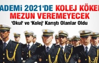 POLİS KOLEJİ BU YIL MEZUN VEREMEYECEK. İŞTE SEBEBİ...