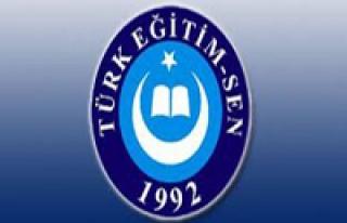 SAMSUN TÜRK EĞİTİM- SEN ANDIMIZIN KALDIRILMASI...