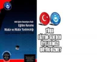 TÜRK EĞİTİM-SEN'DEN YÖNETİCİ ADAYLARINA HAZIRLIK...