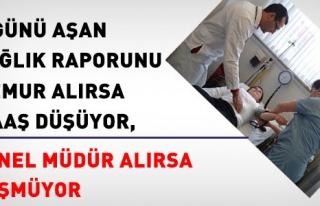 RAPOR KESİNTİSİ MEMURA UYGULANIYOR,GENEL MÜDÜRE...