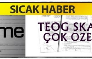 TEOG SKANDALINDA FLAŞ GELİŞME !