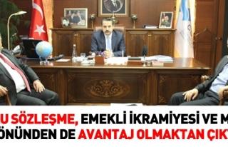TOPLU SÖZLEŞME,EMEKLİ İKRAMİYESİ YÖNÜNDEN...