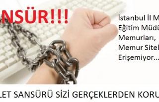İSTANBUL MEM'DEN SANSÜR