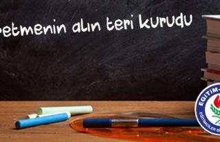'ÖĞRETMENİN ALIN TERİNİN KARŞILIĞI ÖDENSİN'