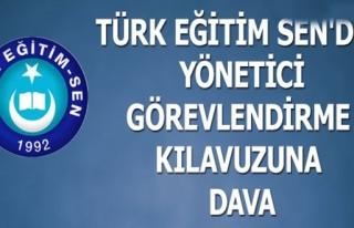 TÜRK EĞİTİM SEN'DEN YÖNETİCİ GÖREVLENDİRME...