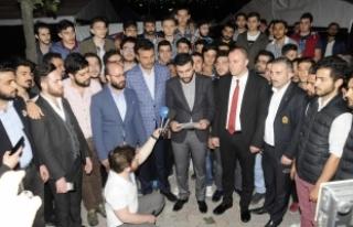 AK Parti Bağcılar Gençlik Kollarından sosyal medyadaki...