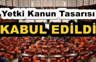 TBMM Genel Kurulunda Yetki Kanun Tasarısı kabul...