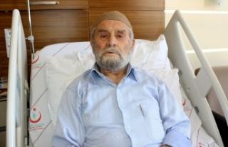 85 yaşındaki 'Genç' ömründe ilk defa hastaneye...