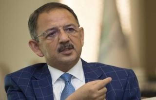 Bakan Özhaseki'den imar barışı açıklaması