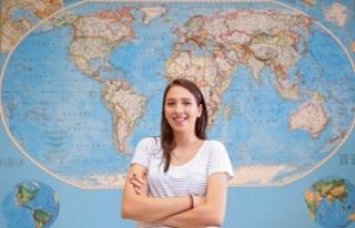 Genç üniversitelinin İzmir'den ABD'ye uzanan...