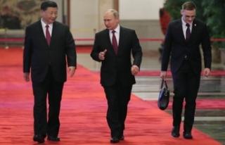 Rusya Devlet Başkanı Putin, Çin'de