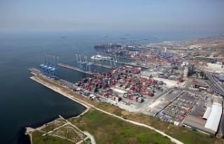 Türk limanları TEU bazında 2018 ilk çeyrekte yüzde...