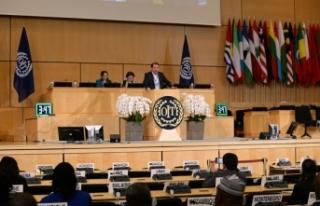 Yalçın, 107'nci ILO Konferansı'nda Çalışan...