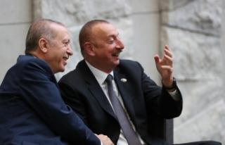 Başkan Erdoğan, Azerbaycan Cumhurbaşkanı İlham...