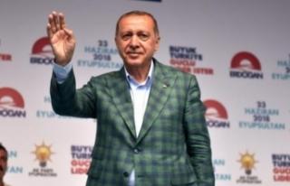 Cumhurbaşkanı Erdoğan'dan Seçimle İlgili...