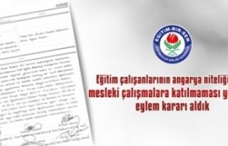 Türk Eğitim Sen'den Sonra Eğitim Bir Sen de Eylem...
