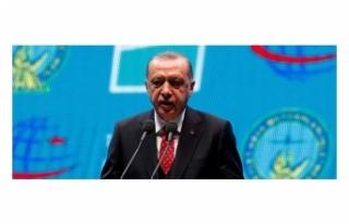 Cumhurbaşkanı Erdoğan: 3'cü Yeni Havalimanın...