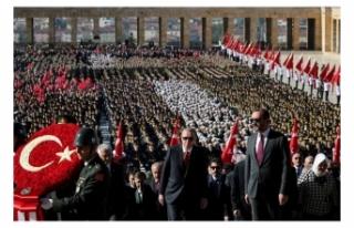 Cumhurbaşkanı Erdoğan 29 Ekim Mesajını Anıtkabir'den...