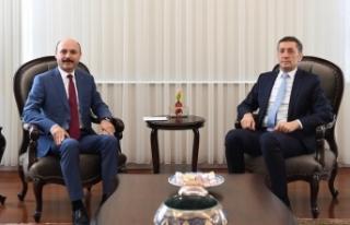 Genel Başkan, Milli Eğitim Bakanı Ziya Selçuk'u...