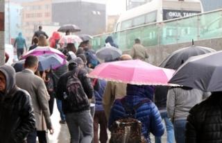İstanbullular Güne Kuvvetli Yağışla Uyandı