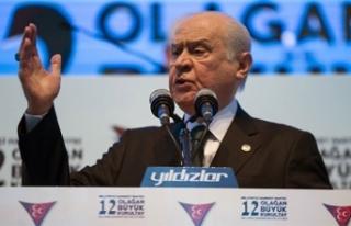 MHP Genel Başkanı Devlet Bahçeli'den Flaş...