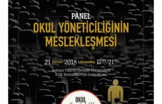21 Kasım'da Eğitim Gündeminin Nabzı Ankara'da...