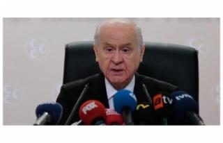 MHP Lideri Devlet Bahçeli'den Cumhur İttifakı...