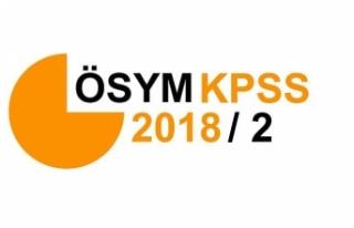KPSS 2018/2 Tercih Kılavuzu: Memur Alımı Tercih...