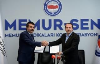 Memur-Sen ve Hacı Bayram Veli Üniversitesi, Eğitim...