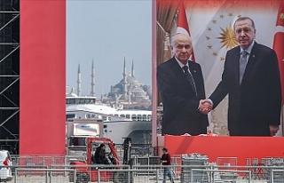Büyük İstanbul Mitingi İçin Vatandaşlar Yenikapı'da...